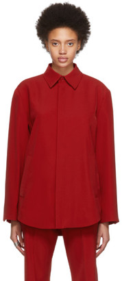 Balenciaga Red Tailored Shirt