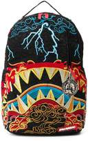 Sprayground Dragon Shark Nightmare embroidered backpack