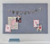 Pottery Barn Kids Gingham Pin Board, Pink