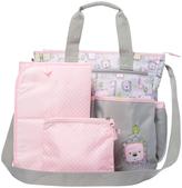 Baby Essentials Pink 3-in-1 Jungle Baby Diaper Bag