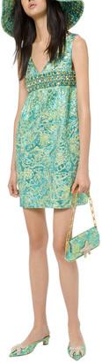 Michael Kors Collection Silk-Blend Dress