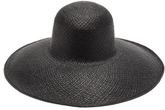 Greenpacha La Jolia Toquilla-straw Hat - Womens - Black