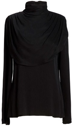 AILANTO Curpo Draped Blouse