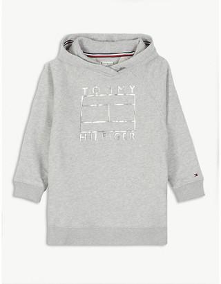Tommy Hilfiger Cotton-blend hooded sweatshirt 4-16 years