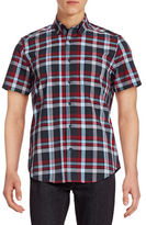 Nautica Wrinkle-Resistant Check Short Sleeve Shirt