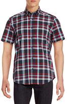 Nautica Wrinkle-Resistant Check Short Sleeve Shirt