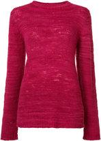 The Elder Statesman cashmere Picasso jumper - women - Cashmere - XS