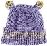 San Diego Hat Company Lavender Animal Ear Beanie