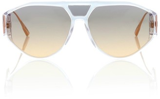 Christian Dior DiorClan1 aviator sunglasses