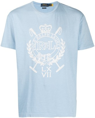 Polo Ralph Lauren crest-print T-shirt