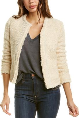 IRO Caster Mohair & Wool-Blend Jacket