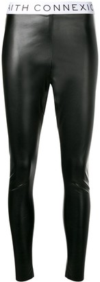 Faith Connexion Faux Leather Leggings