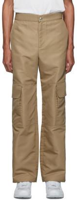 paria /FARZANEH Beige Pocket Panel Trousers