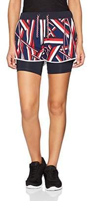 Tommy Hilfiger Women's Th Ath Elaine Gs Short Straight Leg Shorts,10(Manufacturer Size:M)