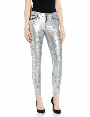 AG Jeans Women's Farrah Skinny Ankle Coated Denim Pants