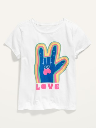 Old Navy Short-Sleeve Graphic Tee for Girls