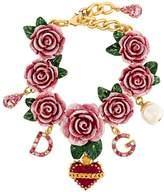 Dolce & Gabbana embellished rose bracelet
