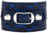 Balenciaga Python Ligne Classic Bracelet