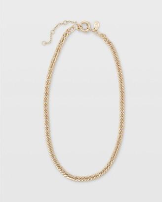 Club Monaco Short Texture Chain Gold