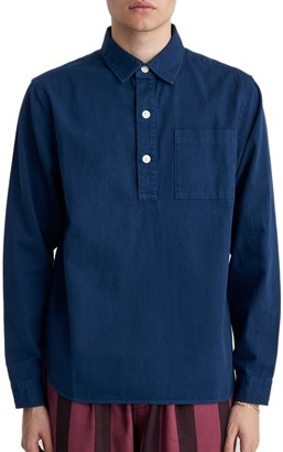 Saturdays NYC Irving Twill Long Sleeve Shirt