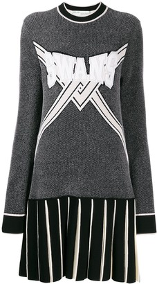 Off-White Swans-knit dress