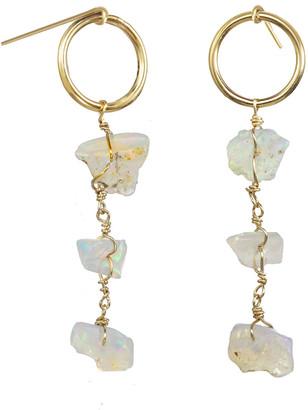 Kozakh Aire Dangle Earrings