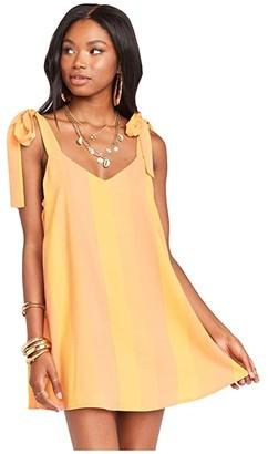 Show Me Your Mumu Throw and Go Tie Mini Dress (Sunkissed Stripe) Women's Dress