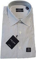 Alfani Men's Dress Shirt 16.5x32/33 Easy Care 100% Cotton