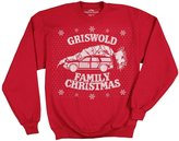 Ripple Junction Christmas Vacation Griswold Family Christmas Men's Crewneck Sweatshirt