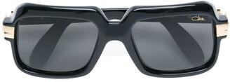 Cazal Square Shaped Aviator Sunglasses