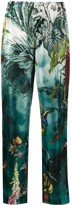 F.R.S For Restless Sleepers Tropical Print Trousers