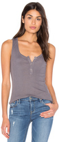 Splendid Codette Mini Variegated Rib Stripe Tank
