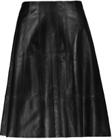 Proenza Schouler Flared leather mini skirt