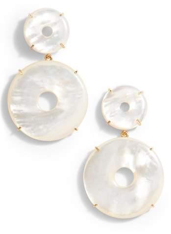 Asha Elizabeth Mother-of-Pearl Drop Earrings