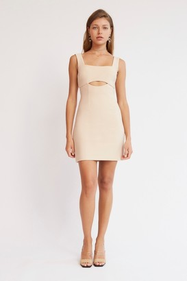 Finders Keepers LAILA MINI DRESS Oyster