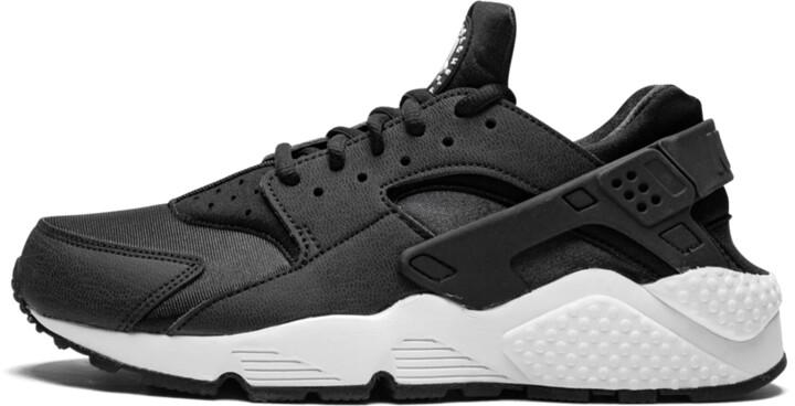 Womens Air Huarache Run 'Black N White' Shoes - Size 5.5W