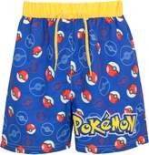 Pokemon Boys Pokeball Swim Shorts