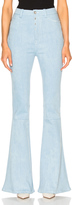 Unravel High Waist Flare Stretch Denim