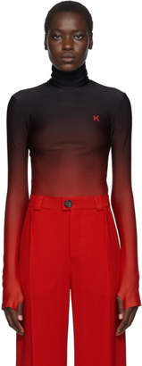 Kwaidan Editions Black and Red Jersey Turtleneck