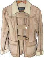 Louis Vuitton Beige Shearling Jackets