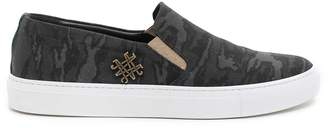 Mr & Mrs Italy Camouflage Slip On Sneakers