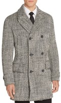 Hardy Amies Diagonal Double-Breasted Coat