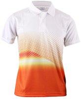 BCPOLO Men's Casual Polo Shirt Print Athletic Polo Shirt- L