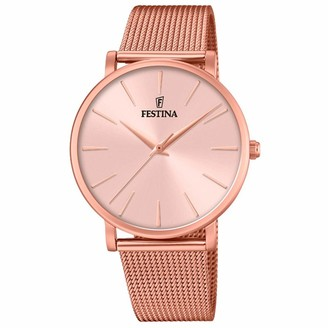 Festina Womens Analogue Quartz Watch with Stainless Steel Strap F20477/1