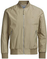 Jack & Jones Nylon-Blend Bomber Jacket