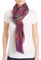 Etro Floral Bombay Modal & Cashmere Scarf