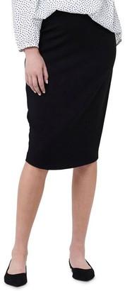 Ripe Ponte Pencil Skirt