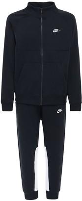 Nike Warm Up Cotton Blend Fleece Sweatsuit