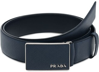 Prada Flat Buckle Belt