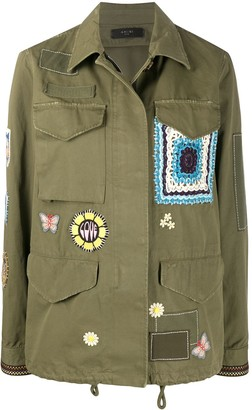 Amiri Multi-Patch Military Shirt